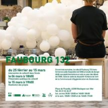 Faubourg 132 à l'école Municipale d'Art de Boulogne-sur-Mer