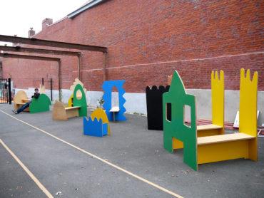 École Edmond Rostand Roubaix – activation du sas d'entrée