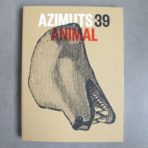 Revue Azimuts n°39, Animal
