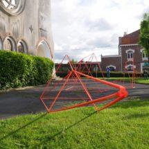Installation artistique «La Flèche»