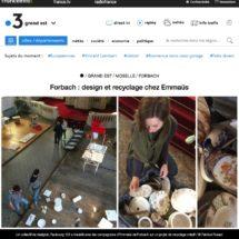 France 3 Grand Est: design et recyclage chez Emmaüs