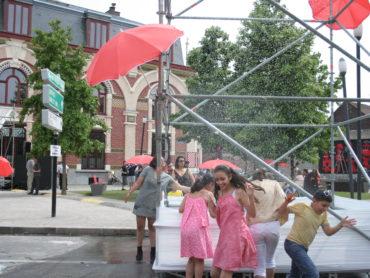 Aménagement de la place Faidherbe, Festival Pile au RDV