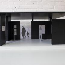 Maquette-outil pour la création d'espaces d'expositions